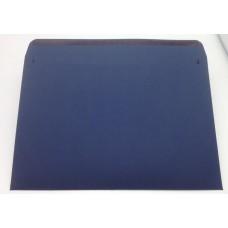 Конверт из дизайнерской бумаги TORITO тиснение лен темно-синий (плотность 270 гр.) формат С4, 10 штук в упаковке.Цена за 1 упаковку.