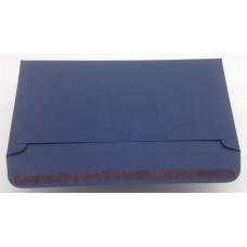 Конверт из дизайнерской бумаги TORITO тиснение лен темно-синий (плотность 270 гр.) формат С5, 10 штук в упаковке.Цена за 1 упаковку.