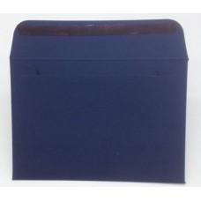 Конверт из дизайнерской бумаги TORITO тиснение лен темно-синий (плотность 270 гр.) формат С6, 10 штук в упаковке.Цена за 1 упаковку.
