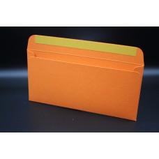 Конверт из дизайнерской бумаги  COLORPLAN мандарин (плотность 350 гр.) формат Е65, 10 штук в упаковке.Цена за 1 упаковку.
