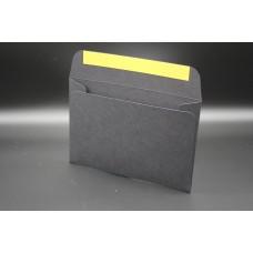 Конверт из дизайнерской бумаги PERGRAPHICA infinite black (плотность 300 гр.) формат С6, 10 штук в упаковке.Цена за 1 упаковку.