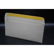 Конверт из дизайнерской бумаги  PLANET ЭКО крафт бежевый (плотность 216 гр.) формат E65, 10 штук в упаковке.Цена за 1 упаковку.