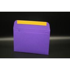Конверт из дизайнерской бумаги  COLORPLAN фиолетовый (плотность 270 гр.) формат С6, 10 штук в упаковке.Цена за 1 упаковку.