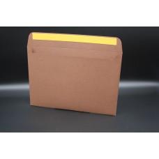 Конверт из дизайнерской бумаги REMAKE ЭКО древесно-коричневый (плотность 250 гр.) формат С5, 10 штук в упаковке.Цена за 1 упаковку.