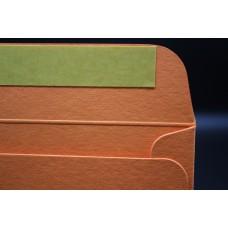 Конверт из дизайнерской бумаги  COLORPLAN мандарин (плотность 350 гр.) формат С5, 10 штук в упаковке.Цена за 1 упаковку.