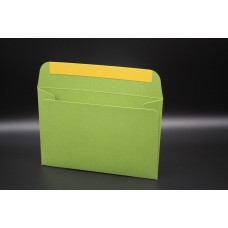 Конверт из дизайнерской бумаги  COCKTAIL  мятный металлик (плотность 290 гр.) формат С6, 10 штук в упаковке.Цена за 1 упаковку.