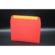 Конверт из дизайнерской бумаги  COLORPLAN алый (плотность 270 гр.) формат С6, 10 штук в упаковке.Цена за 1 упаковку.