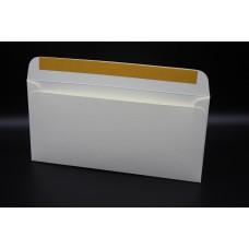 Конверт из дизайнерской бумаги FABRIA  микровельвет слоновая кость (плотность 240 гр.) формат Е65, 10 штук в упаковке.Цена за 1 упаковку.