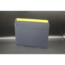 Конверт из дизайнерской бумаги MAJESTIC Classic королевский синий (плотность 290 гр.) формат С5, 10 штук в упаковке.Цена за 1 упаковку.