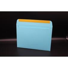 Конверт из дизайнерской бумаги  COLORPLAN светло-бирюзовый (плотность 270 гр.) формат С5, 10 штук в упаковке.Цена за 1 упаковку.