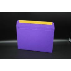 Конверт из дизайнерской бумаги  COLORPLAN фиолетовый (плотность 270 гр.) формат С5, 10 штук в упаковке.Цена за 1 упаковку.