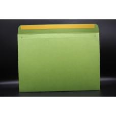 Конверт из дизайнерской бумаги  COCKTAIL мятный металлик (плотность 290 гр.) формат С4, 10 штук в упаковке.Цена за 1 упаковку.
