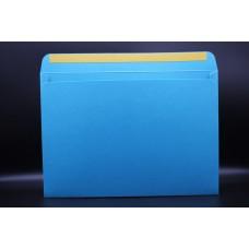 Конверт из дизайнерской бумаги  COCKTAIL бирюзовый металлик (плотность 290 гр.) формат С4, 10 штук в упаковке.Цена за 1 упаковку.
