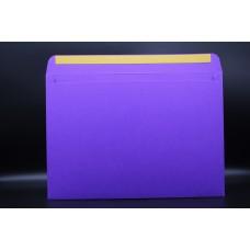 Конверт из дизайнерской бумаги  COLORPLAN фиолетовый (плотность 270 гр.) формат С4, 10 штук в упаковке.Цена за 1 упаковку.