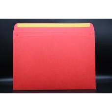 Конверт из дизайнерской бумаги  COLORPLAN алый (плотность 270 гр.) формат С4, 10 штук в упаковке. Цена за 1 упаковку.