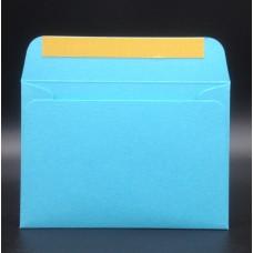Конверт из дизайнерской бумаги COLORPLAN светло-бирюзовый (плотность 135 гр.) формат С6, 10 штук в упаковке.Цена за 1 упаковку.