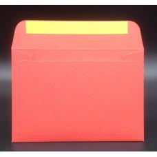 Конверт из дизайнерской бумаги COLORPLAN алый (плотность 135 гр.) формат С6, 10 штук в упаковке.Цена за 1 упаковку.