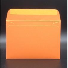 Конверт из дизайнерской бумаги COLORPLAN мандарин (плотность 135 гр.) формат С6, 10 штук в упаковке.Цена за 1 упаковку.