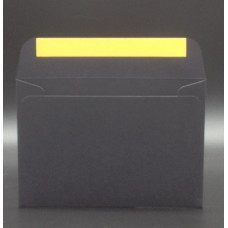 Конверт из дизайнерской бумаги PERGRAPHICA infinite black (плотность 120 гр.) формат С6, 10 штук в упаковке.Цена за 1 упаковку.