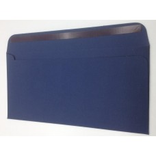 Конверт из дизайнерской бумаги TORITO тиснение лен темно-синий (плотность 270 гр.) формат Е65, 10 штук в упаковке.Цена за 1 упаковку.